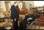 الدكتور سمير جعجع يزور الفنان ريمون جبارة