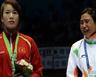 ايقاف الملاكمة الهندية ديفي لرفضها استلام ميداليتها في اسياد اينشيون