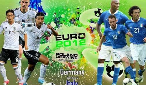 ألمانيا × ايطاليا .. نصف نهائي يورو 2012