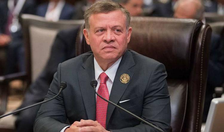 ملك الأردن: لا يمكن للمنطقة أن تنعم بالأمن بلا حل شامل للقضية الفلسطينية
