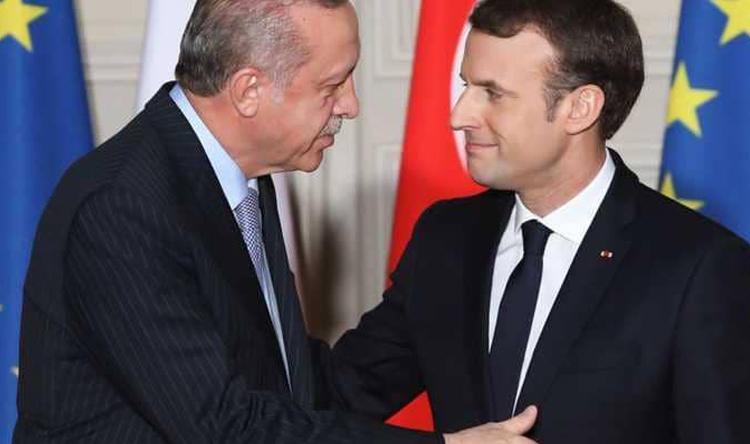 الرئاسة التركية: اردوغان وماكرون أشارا إلى أهمية تعزيز العلاقات الاقتصادية بين البلدين