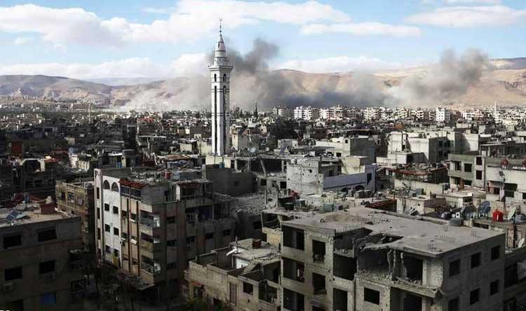 قوات الأسد تعتقل المدنيين في الغوطة