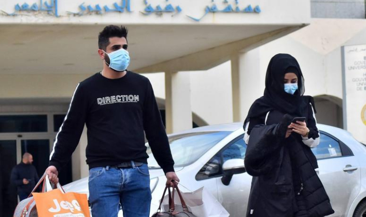 انخفاض في اصابات كورونا لبنان