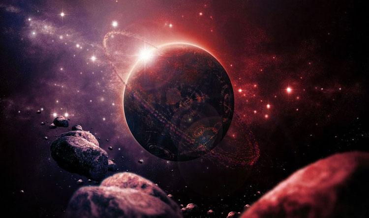 انفجار فضائي يتجه نحو الأرض