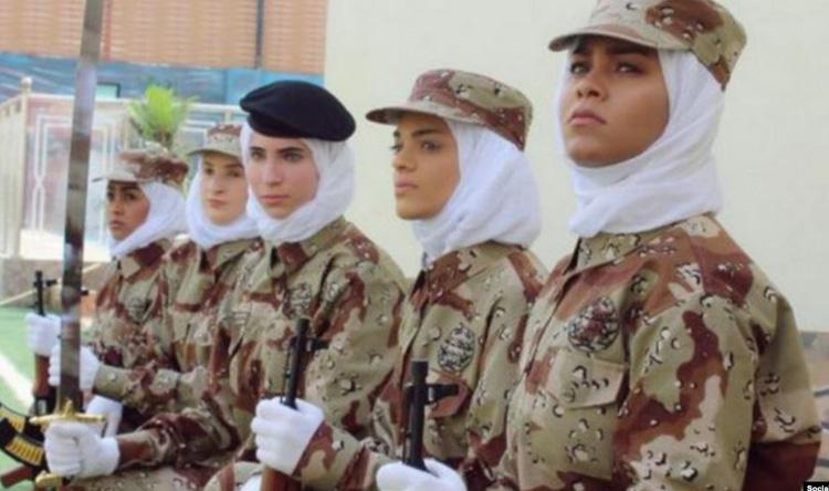 الوظائف العسكرية النسائية