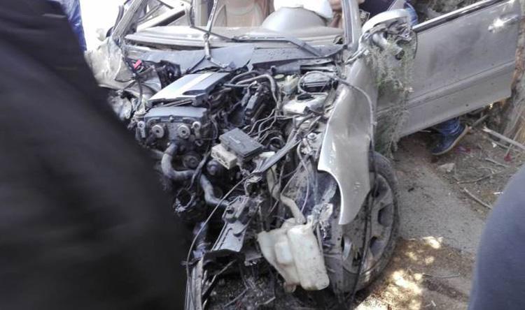 جريحان بانحراف سيارة في الهرمل