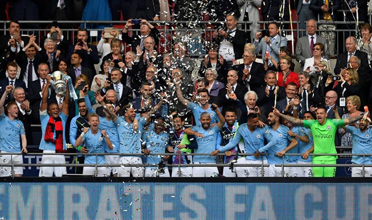 فوز كاسح لمانشستر سيتي في نهائي كأس انجلترا