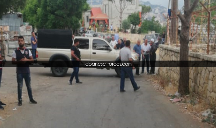 بالفيديو: اعتداء مرافقي وهاب على أهالي دميت