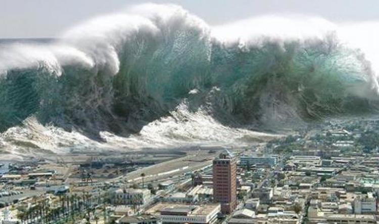 26 جريحاً في تسونامي اليابان