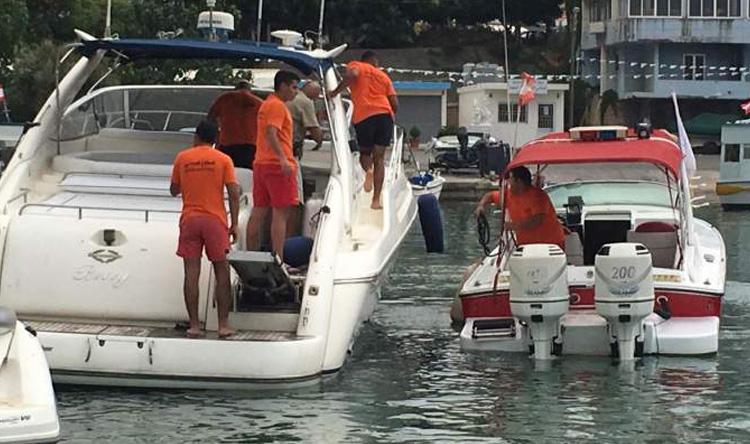 نجاة 11 شخصاً من الغرق في العقيبة