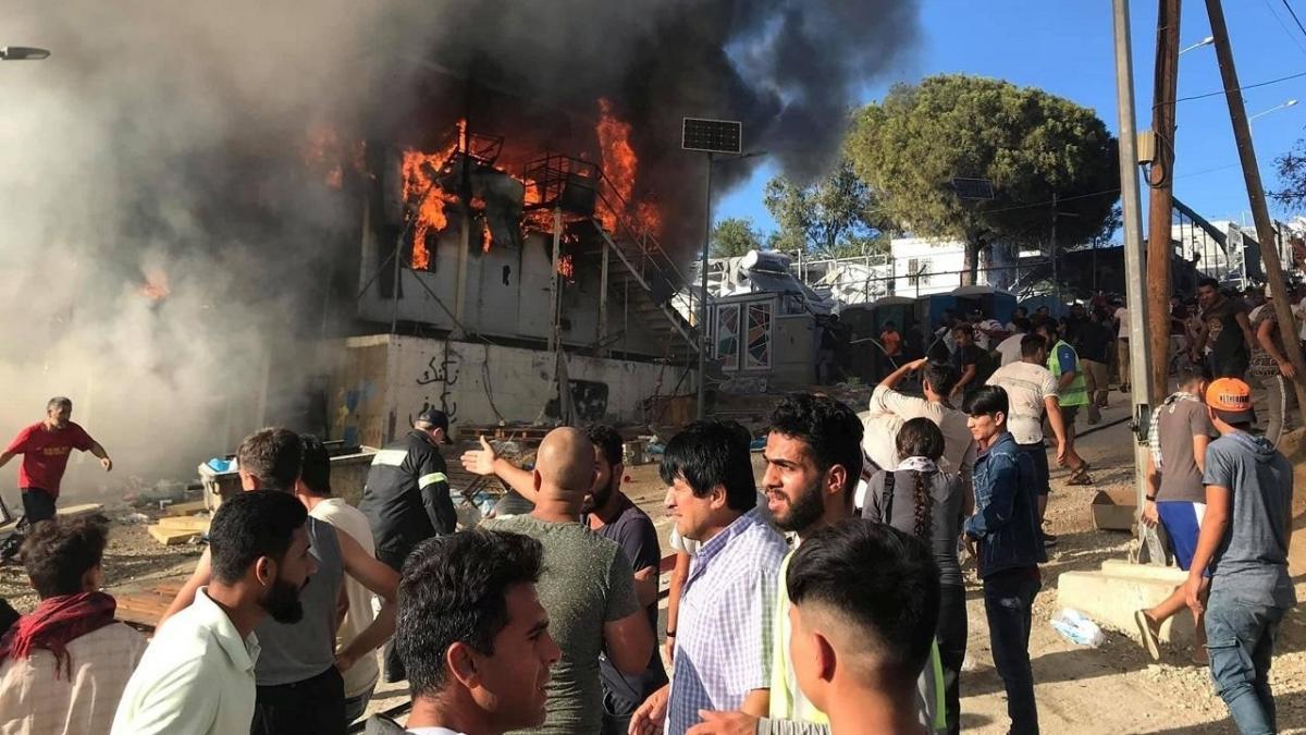اليونان: إخلاء أكبر مخيم للاجئين في أوروبا - Lebanese Forces Official  Website