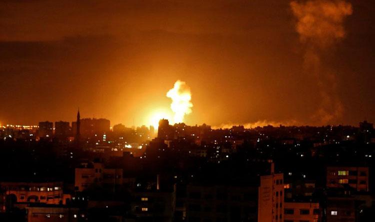 قتلى جراء القصف الإسرائيلي في غزة