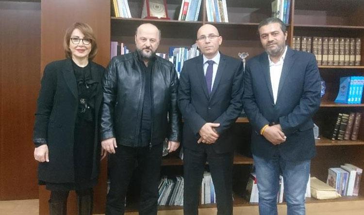 الرياشي بحث التعاون الاعلامي بين لبنان والاردن