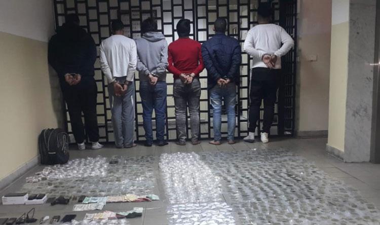 أهم عصابة لترويج المخدرات في جبل لبنان