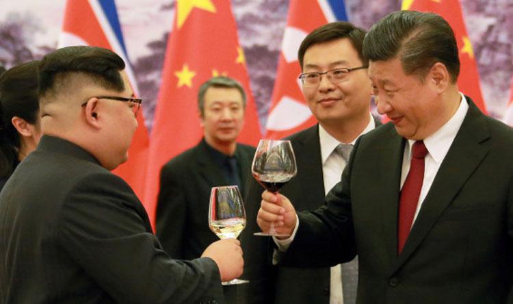 Image result for زيارة كيم الأخيرة للصين