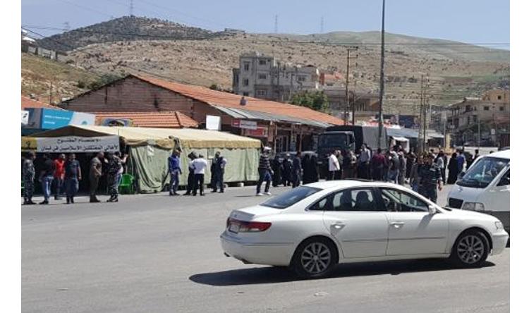 إعتصام لأهالي الموقوفين الأسلاميين على طريق المصنع للمطالبة بالعفو