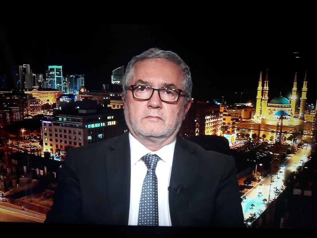 ادي ابي اللمع - مقابلة تلفزيونية