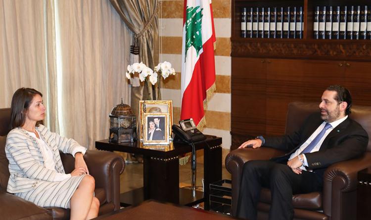 الحريري بحث مع لاسن في المستجدات محليًا واقليميًا والتقى زوارًا