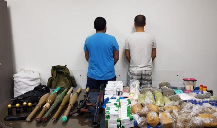 شعبة المعلومات تضرب أخطر وكر في بلدة بريتال يستخدم كمضافة لترويج المخدرات