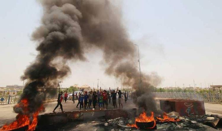 إحتجاجات البطالة تتصاعد... والعبادي في البصرة