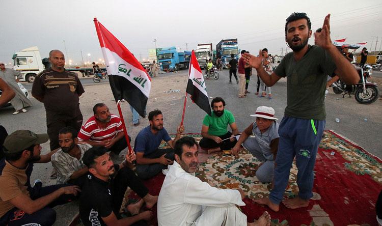 إستمرار إحتجاجات العراق... ورفع حالة الإستنفار الأمني