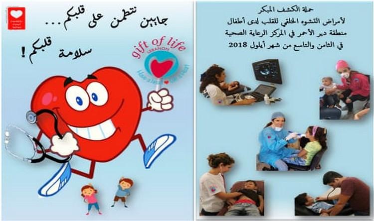 حملة صحية شاملة للأطفال في دير الأحمر يومي 8 و9 أيلول