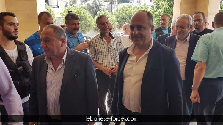بو عاصي يزور بلدية تل عباس الغربي