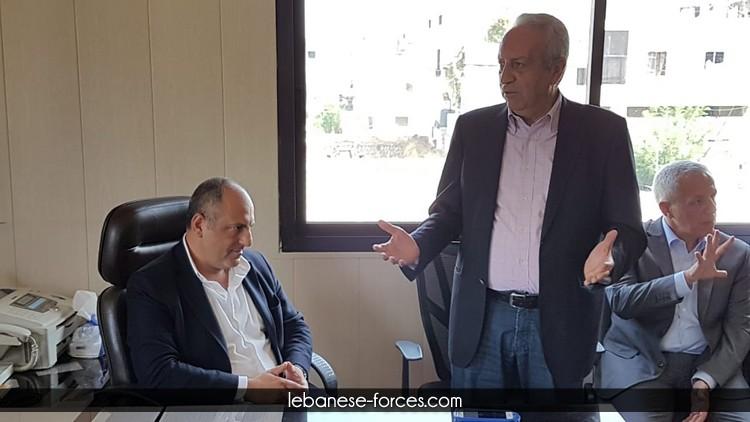 بالصور: بو عاصي يبدأ جولته العكارية من حلبا