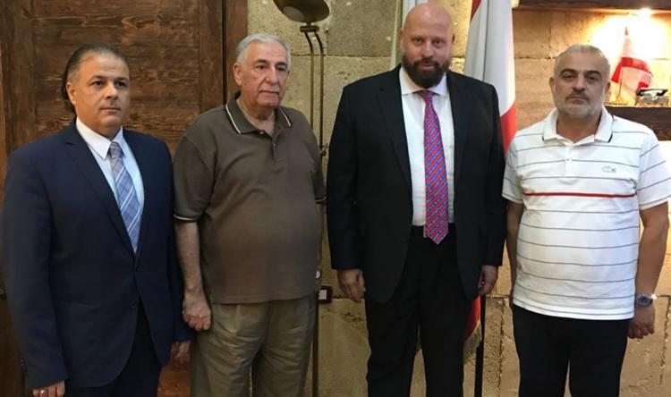 محافظ الشمال التقى وفدًا من جمعية تجار لبنان الشمالي