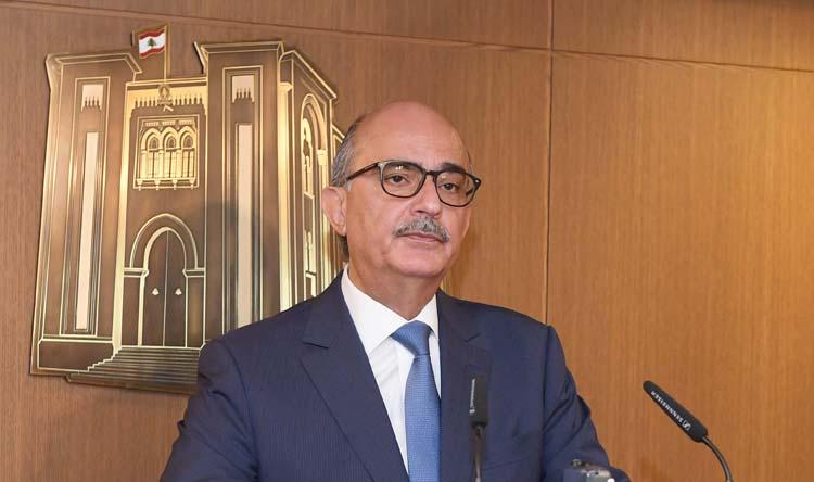 نجم: آمل إقرار قانون الكهرباء الأربعاء