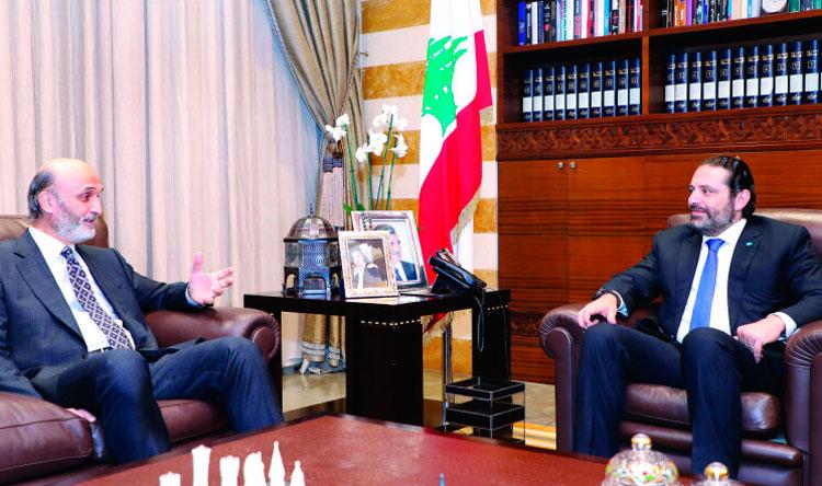 الحريري لجعجع: إنتظر! - Lebanese Forces Official Website