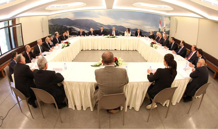 """إجتماع تكتل """"الجمهوريّة القويّة"""" في معراب"""