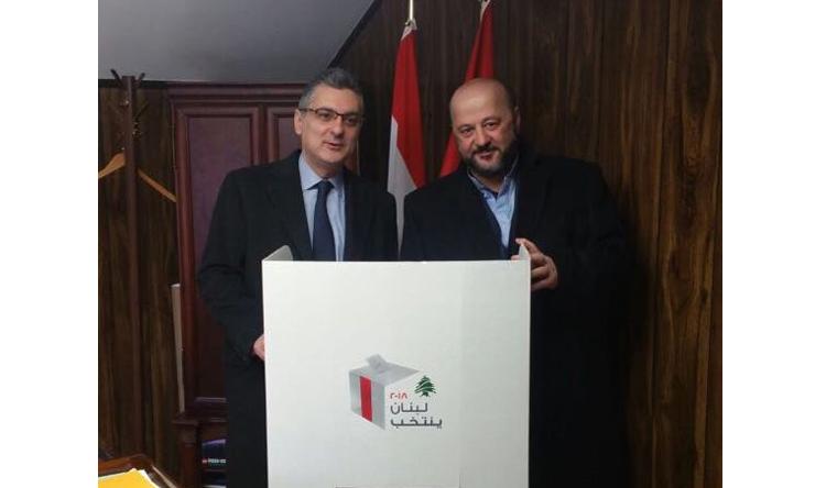 وزير الإعلام اللبناني ملحم الرياشي في كندا