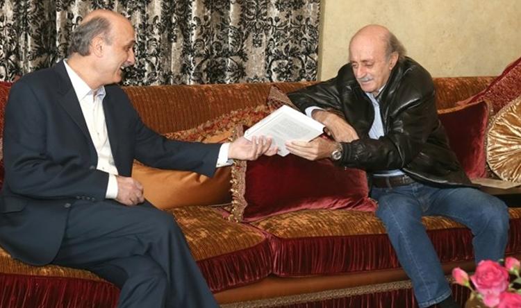 """Résultat de recherche d'images pour """"جنبلاط وجعجع"""""""