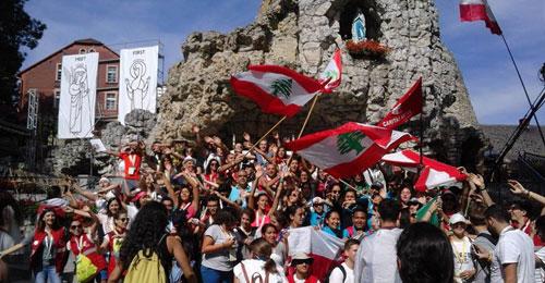 بالفيديو والصور: مشاركة 1200 لبناني في الايام العالمية للشباب في بولونيا