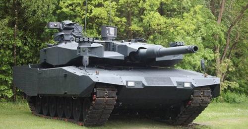 """بالصور: صواريخ """"داعش"""" تطيح باحدى أهم الدبابات في العالم"""