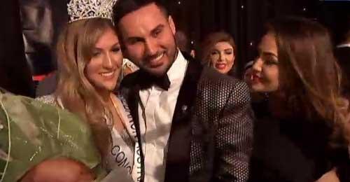 بالفيديو والصور: ماري مهاجر تفوز بلقب ملكة جمال لبنان أستراليا