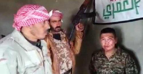بالفيديو: المعارضة السورية تأسر جنديا أفغانيا.. وهذه المعلومات التي زودهم بها