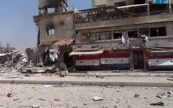 بالفيديو: المعارك في قلب دمشق تتوسّع والمعارضة تتقدم في حي تشرين بعد السيطرة على الدخانية