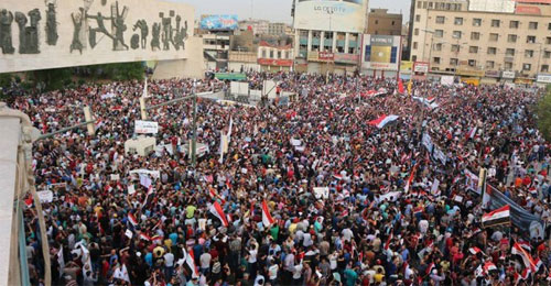 العراق وحراك ساحة البرج لا الشهداء
