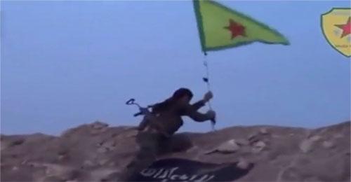 بالفيديو: أسلحة لمساعدة الاكراد تقع في اليد الخطأ