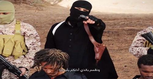 """بالصور: """"داعش"""" يعدم 28 اثيوبياً مسيحياً في ليبيا"""