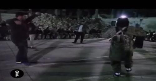 بالفيديو: رقص واحتفالات.. الساعات الأخيرة لإنتحاري
