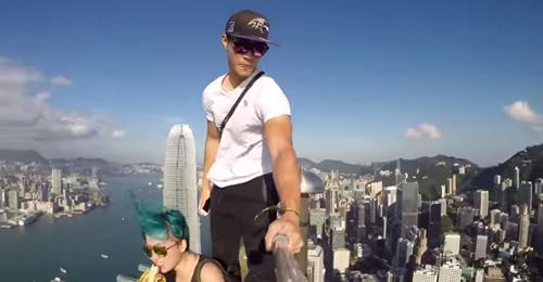 """بالفيديو: أخطر """"selfie"""""""