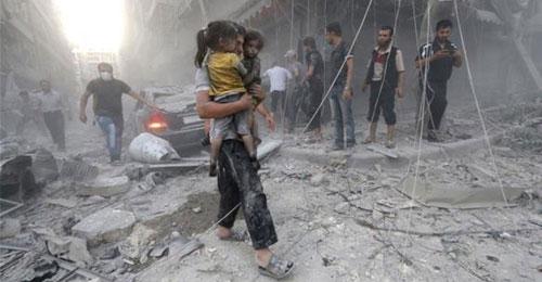 حلب يا عالم إلتفتوا