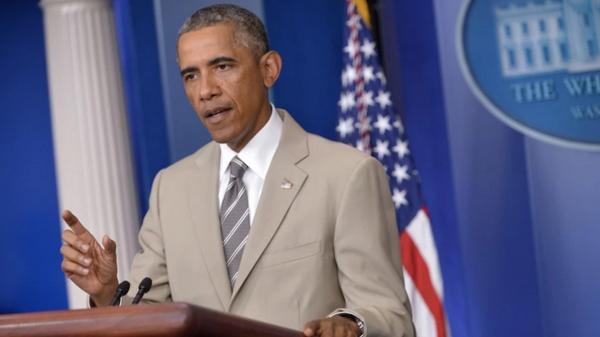بالصور: بزّة أوباما تثير عاصفة لدى الأميركيين