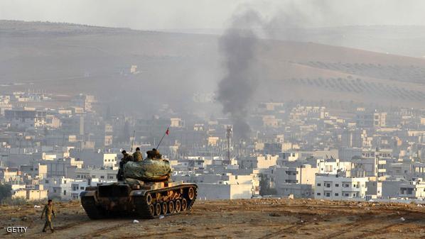 """معركة كوباني: """"كميات سلاح ضخمة"""" من الجو للاكراد وأنقرة تعلن تسهيل نقل مقاتلي البشمركة"""