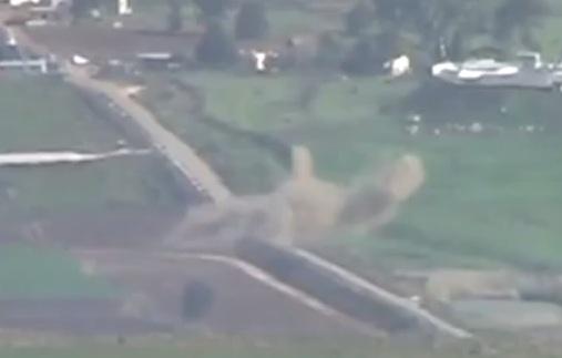 فيديو يظهر القصف الاسرائيلي على الجنوب