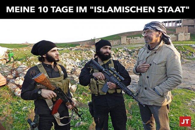 """لماذا سمح """"البغدادي"""" لصحافي ألماني يدافع عن الأسد بالتجول في اراضي """"الدولة""""؟"""