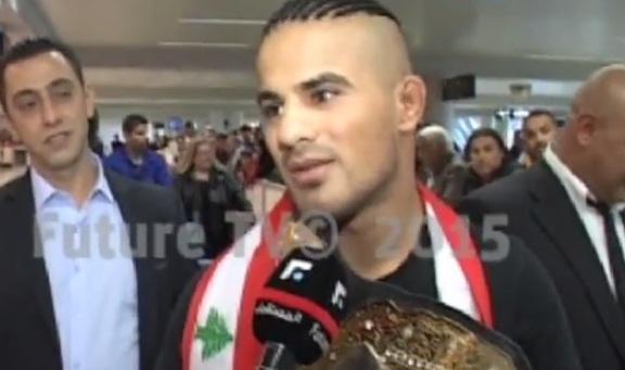 """بالفيديو: لبناني بطل ألمانيا في """"البوكس"""""""